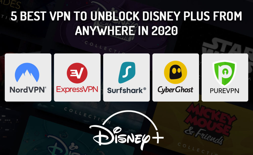 5 Best VPNs to Watch Disney Plus Anywhere [October 2020]