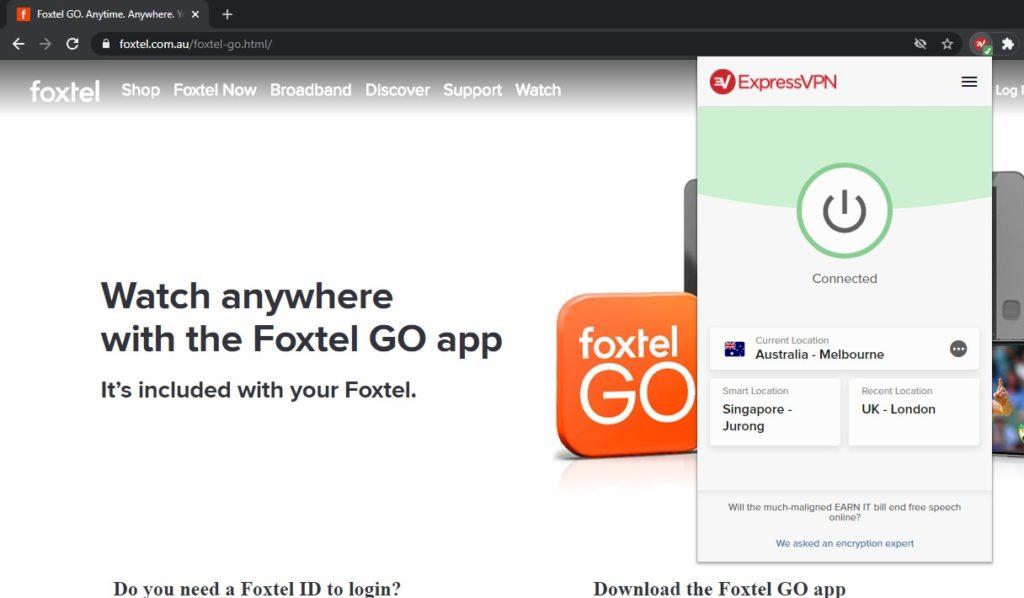 expressvpn-unblocks-foxtel-go