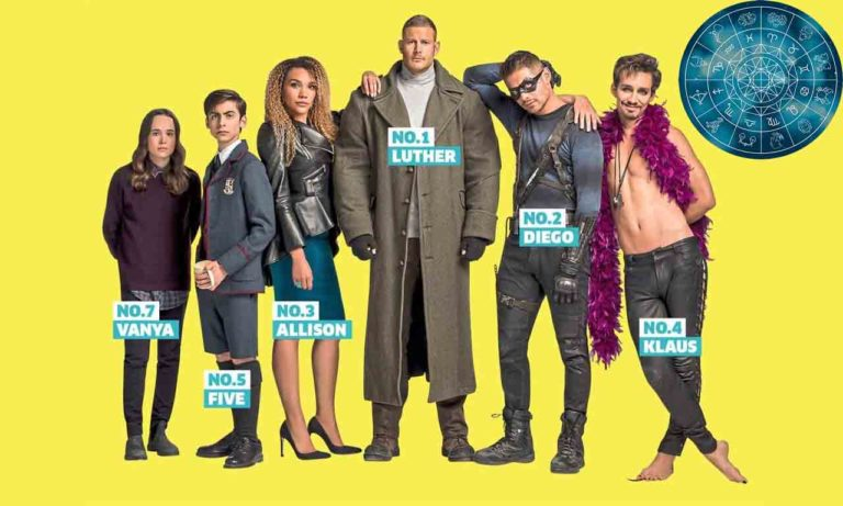 Which Umbrella Academy Character Would You Be, Based On Your Zodiac?