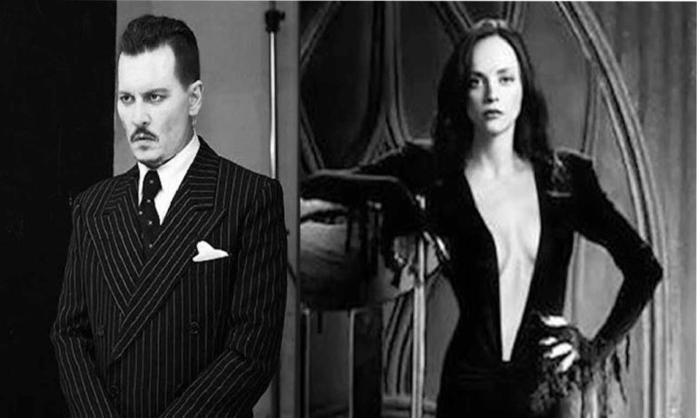 The Addams Family Fans Want Depp and Ricci as Gomez and Morticia in Tim Burton's Reboot
