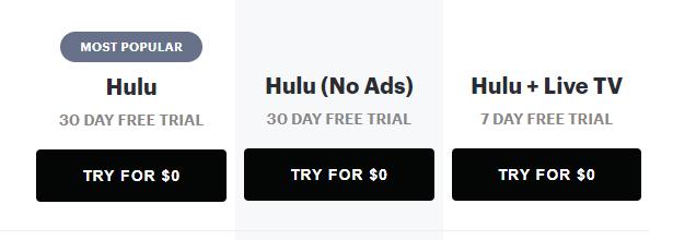 Hulu-pricing