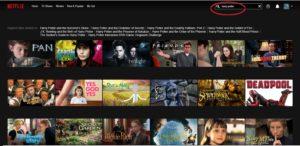 Harry Potter Netflix UK