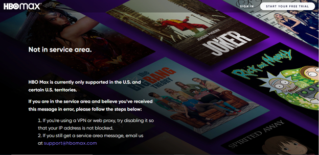 HBO-Max-geo-restricted-in-Australia