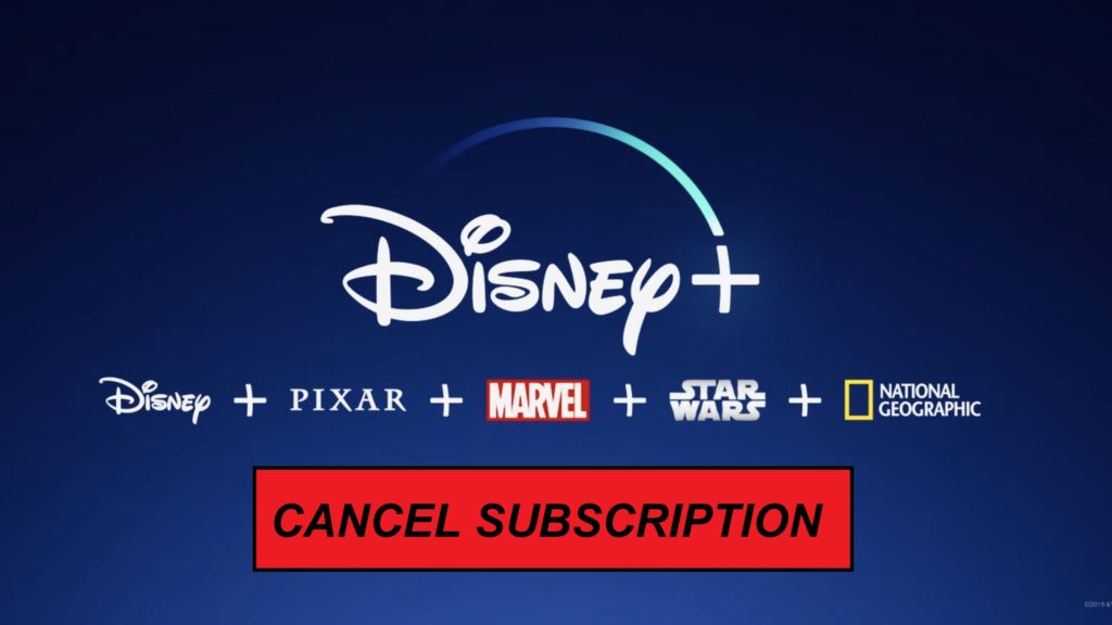 How to cancel Disney Plus Subscription [Updated April 2021]