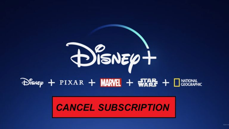 How to cancel Disney Plus Subscription [October 2021]