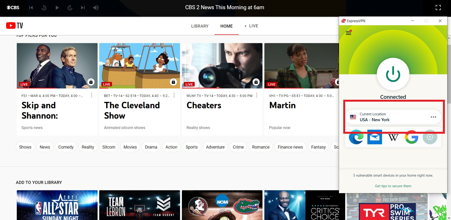 expressvpn-unblocks-youtube-tv-outside-us