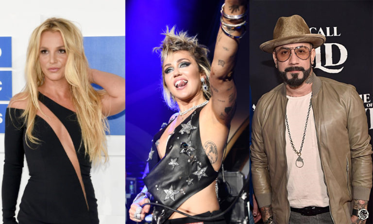 Backstreet Boys, Christina Aguilera and Miley Cyrus Support Britney Spears, 'We all deserve happiness'