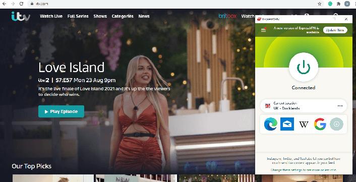 ExpressVPN-unblock-ITV-US