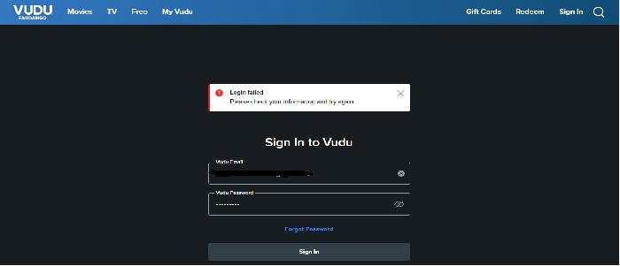 vudu restriction image