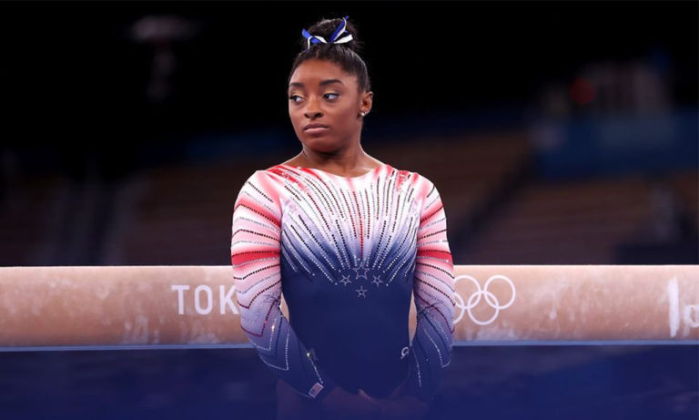 Simone Biles Says She's Under Pressure to Over-Achieve as a Black Athlete